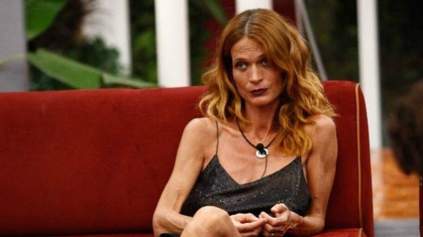 Jane Alexander durante una puntata del Grande Fratello Vip