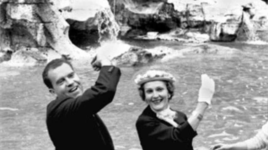 Presidente Nixon e moglie Pat