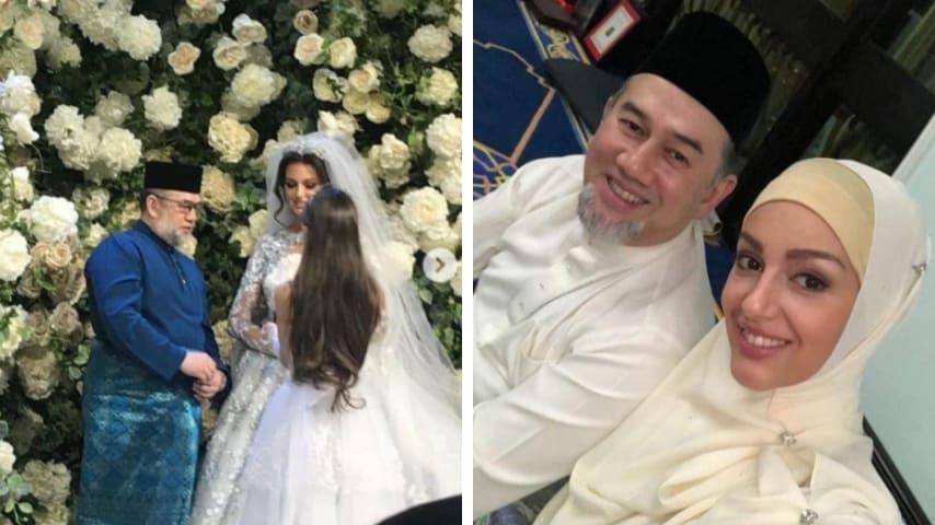 nozze re malesia con modella russa