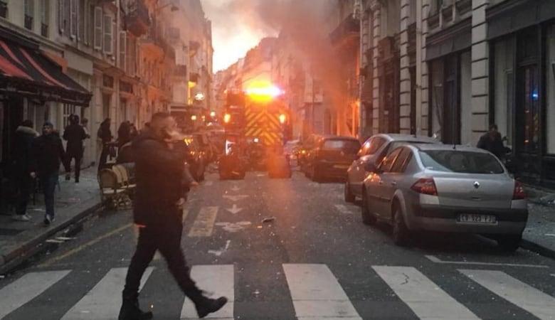 parigi esplosione