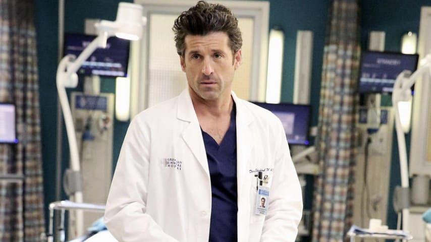Patrick Dempsey, attore nei panni del Dott. Shepard in Grey's Anatomy