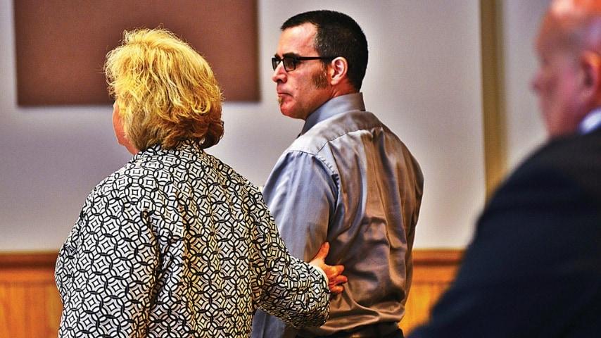Robert Havens con il suo avvocato