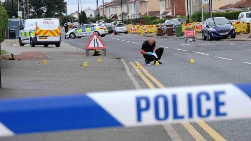 Il luogo in cui è stata pugnalata Kelly Franklin. Foto: Evening Gazette