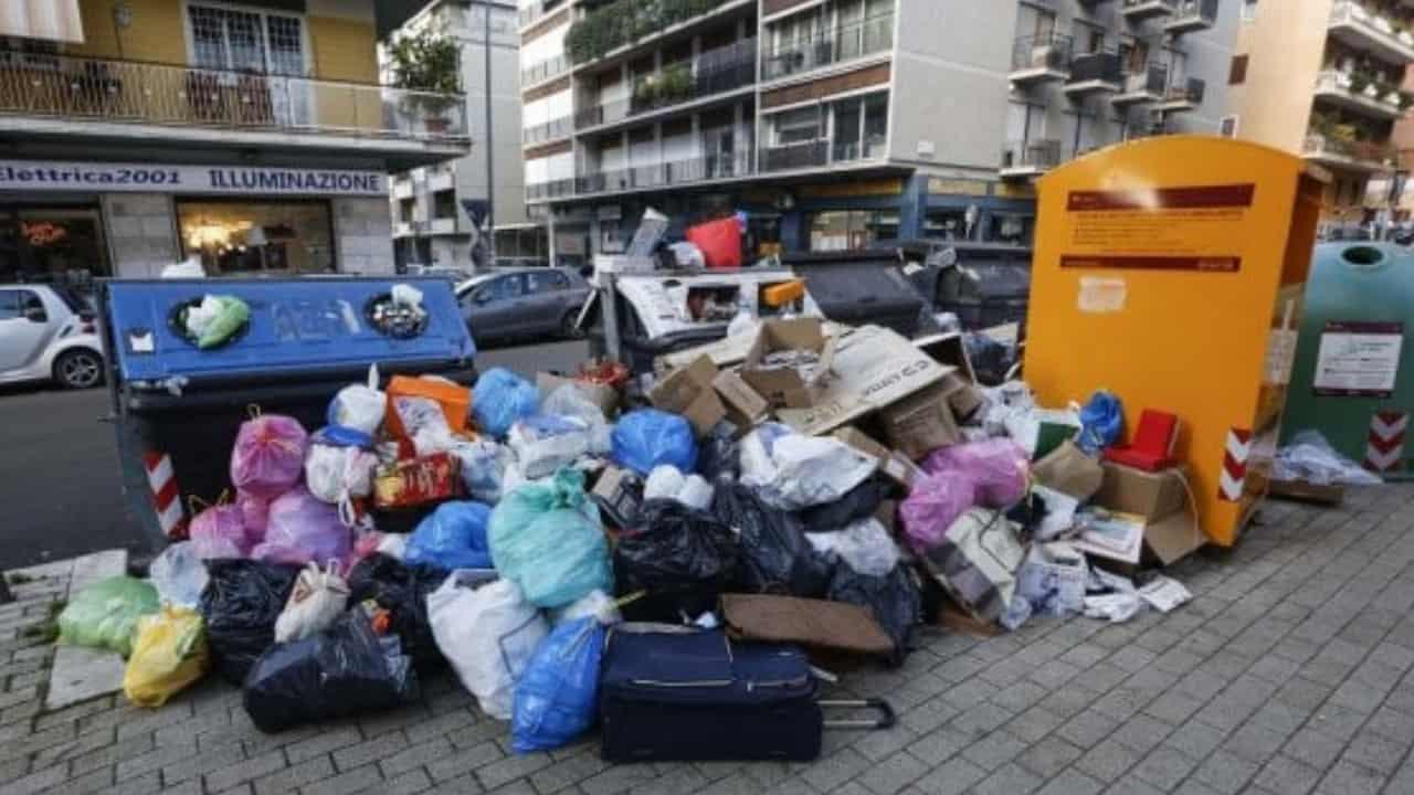 spazzatura roma