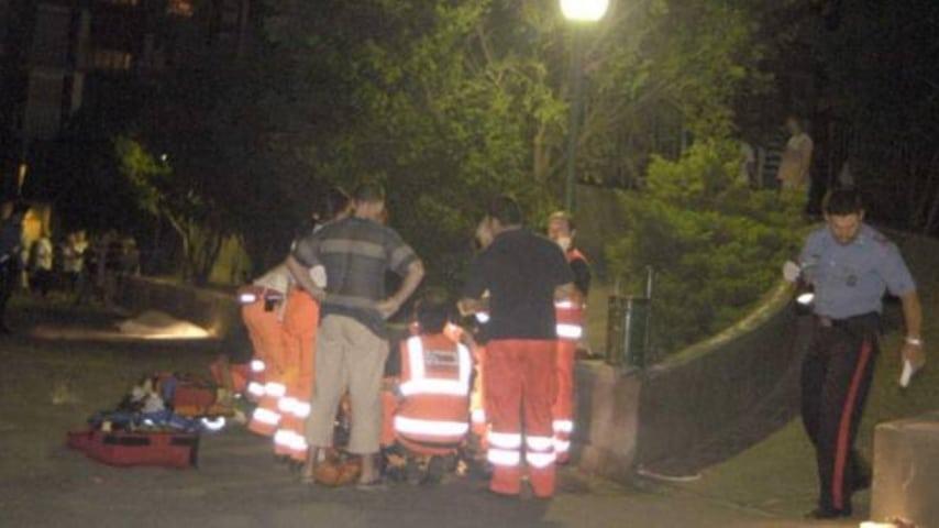 La strage del 2003 a Rozzano. Foto: Corriere della Sera
