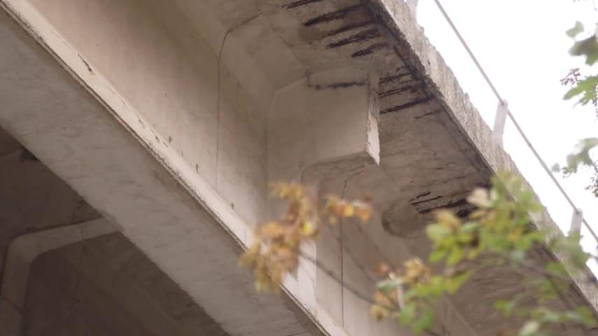 Il viadotto Puleto è sotto sequestro per ischio collassamento