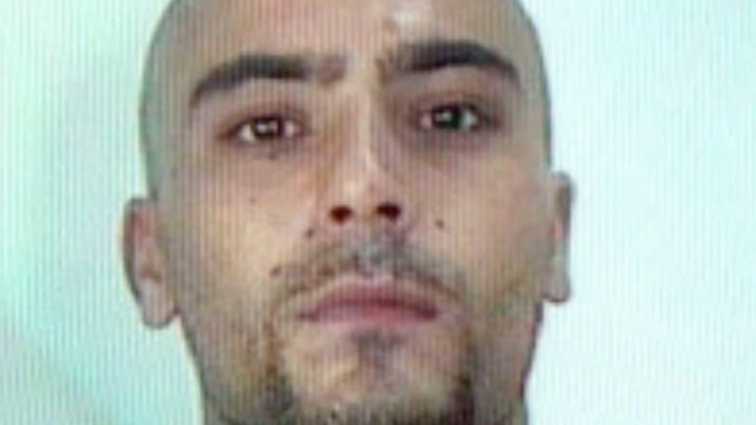 Vito Cosco dopo la cattura, nel 2003.