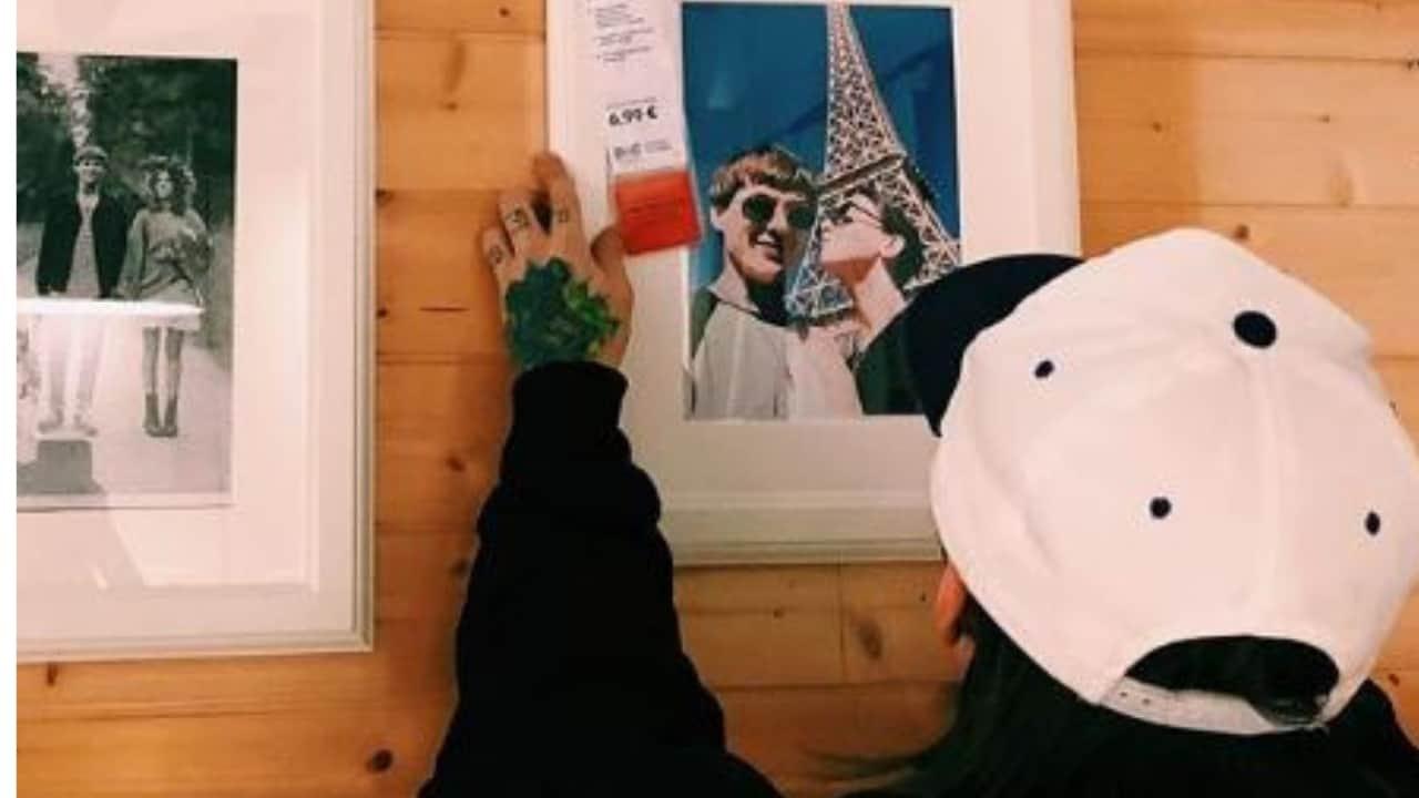 la coppia da Ikea