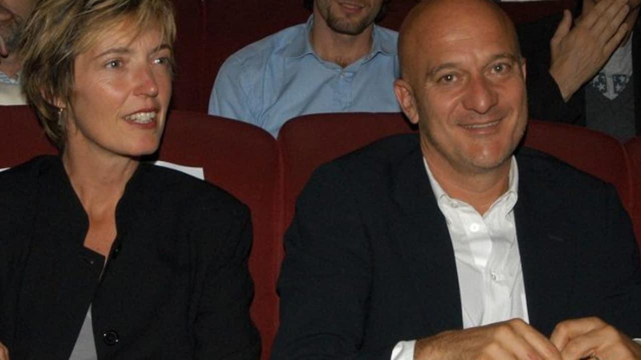 Sandra Bonzi e Claudio Bisio