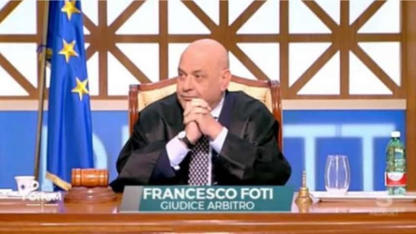 Giudice Foti a Forum