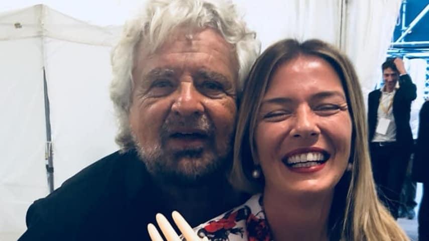 Grillo e Sara Marcozzi