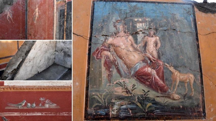 I nuovi affreschi. Credits Facebook