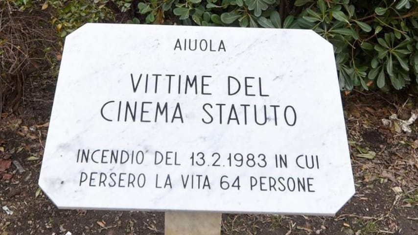 Il dramma del Cinema Statuto, nel quale persero la vita 64 persone