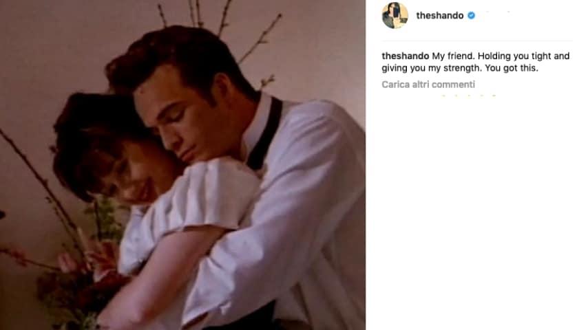 Il post di Shannon Doherty su Instagram