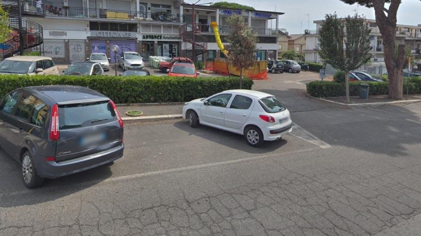 La zona di piazza Eschilo Credits Google Maps