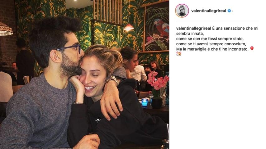 Piero Barone e Valentina Allegri su Instagram