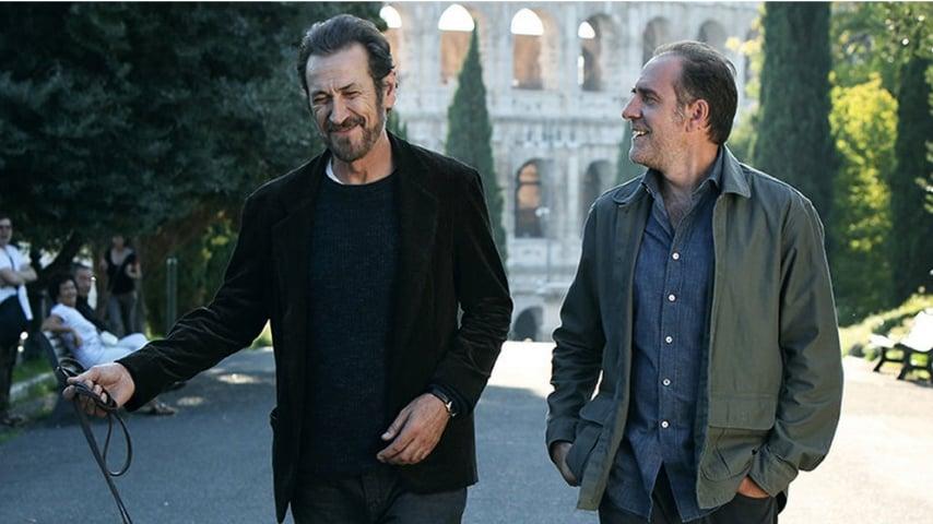 Marco Giallini e Valerio Mastroandrea