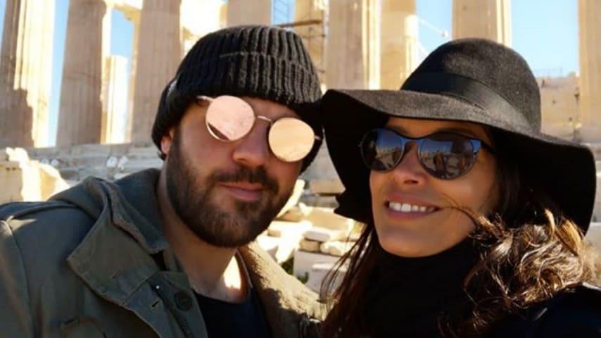 Fernanda Lessa con suo marito