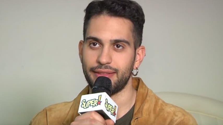 Mhamood mentre rilascia un'intervista