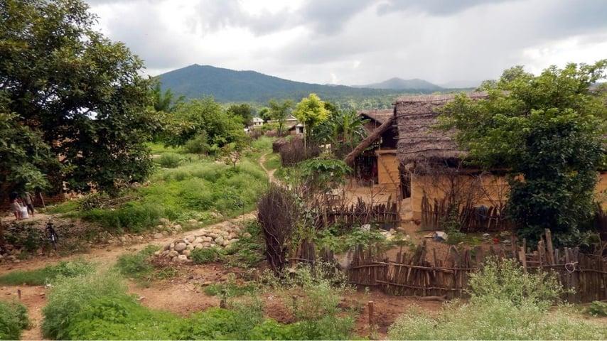 Villaggio nepalese