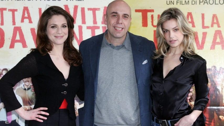 Presentazione del film Tutta la vita davanti, dove Paolo Virzì e Micaela Ramazzotti si sono conosciuti