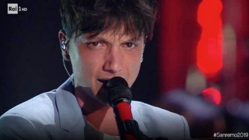 Ultimo in esibizione al Festival di Sanremo