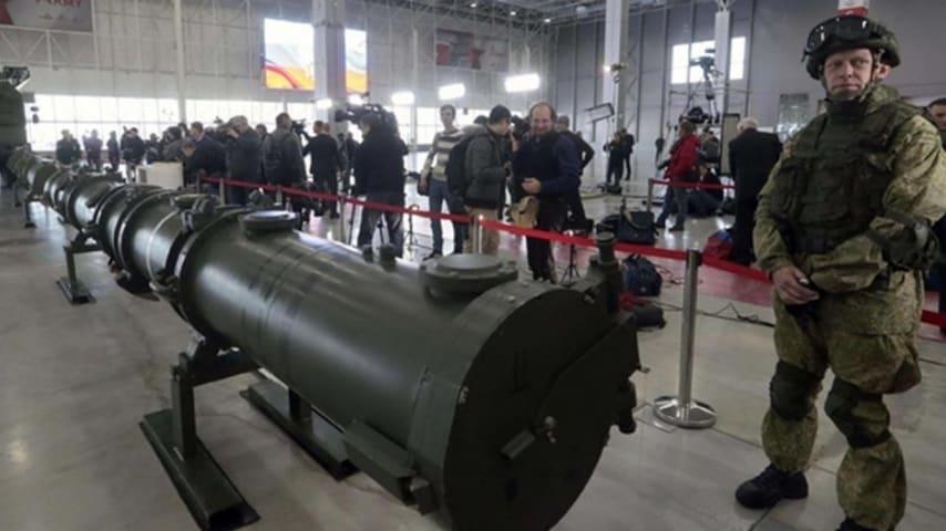 Un esempio di missile Iskander Ansa
