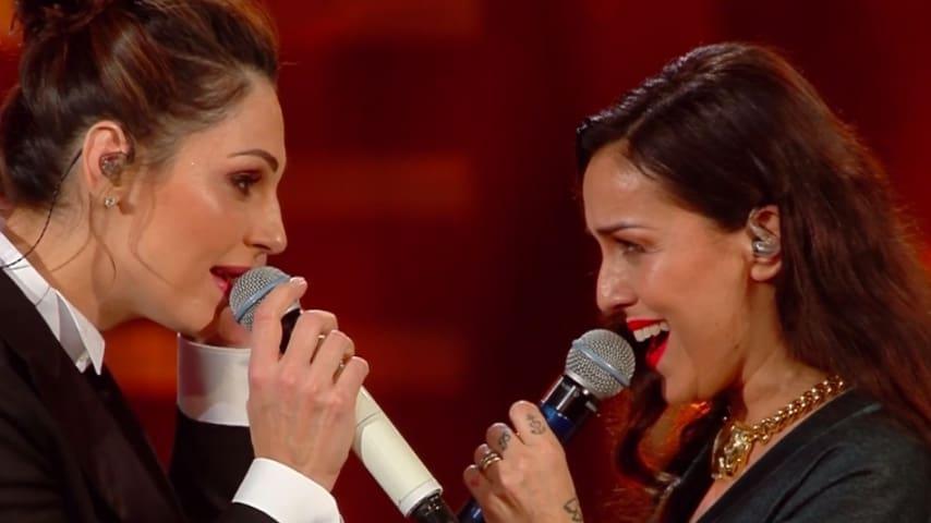 Anna Tatangelo e Syria cantano Le nostre anime di notte