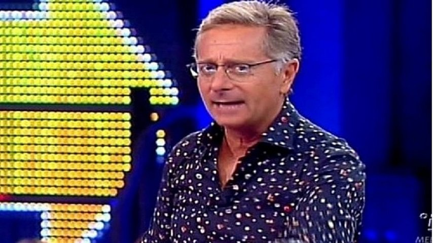 Paolo Bonolis in trasmissione