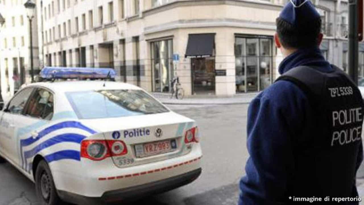belgio polizia