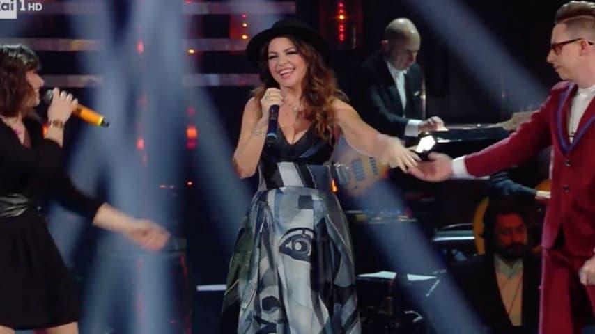 Cristina D'Avena a Sanremo