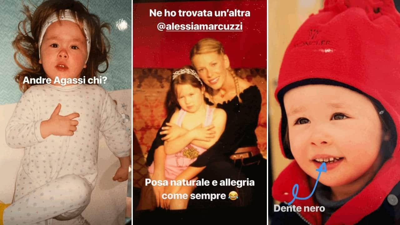 Aurora Ramazzotti bambina