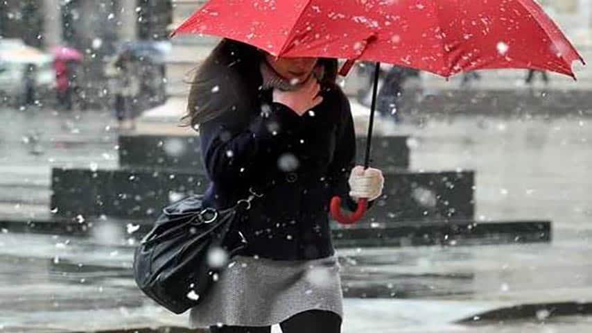 meteo italia freddo neve