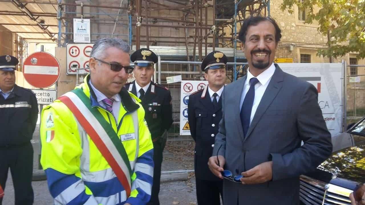 L'ambasciatore del Kuwait a Norcia