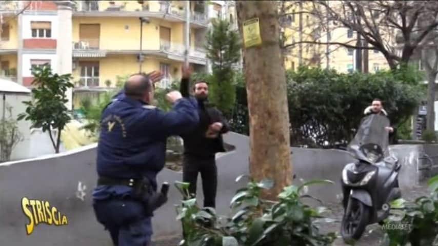 Luca Abete aggredito a Napoli durante un servizio