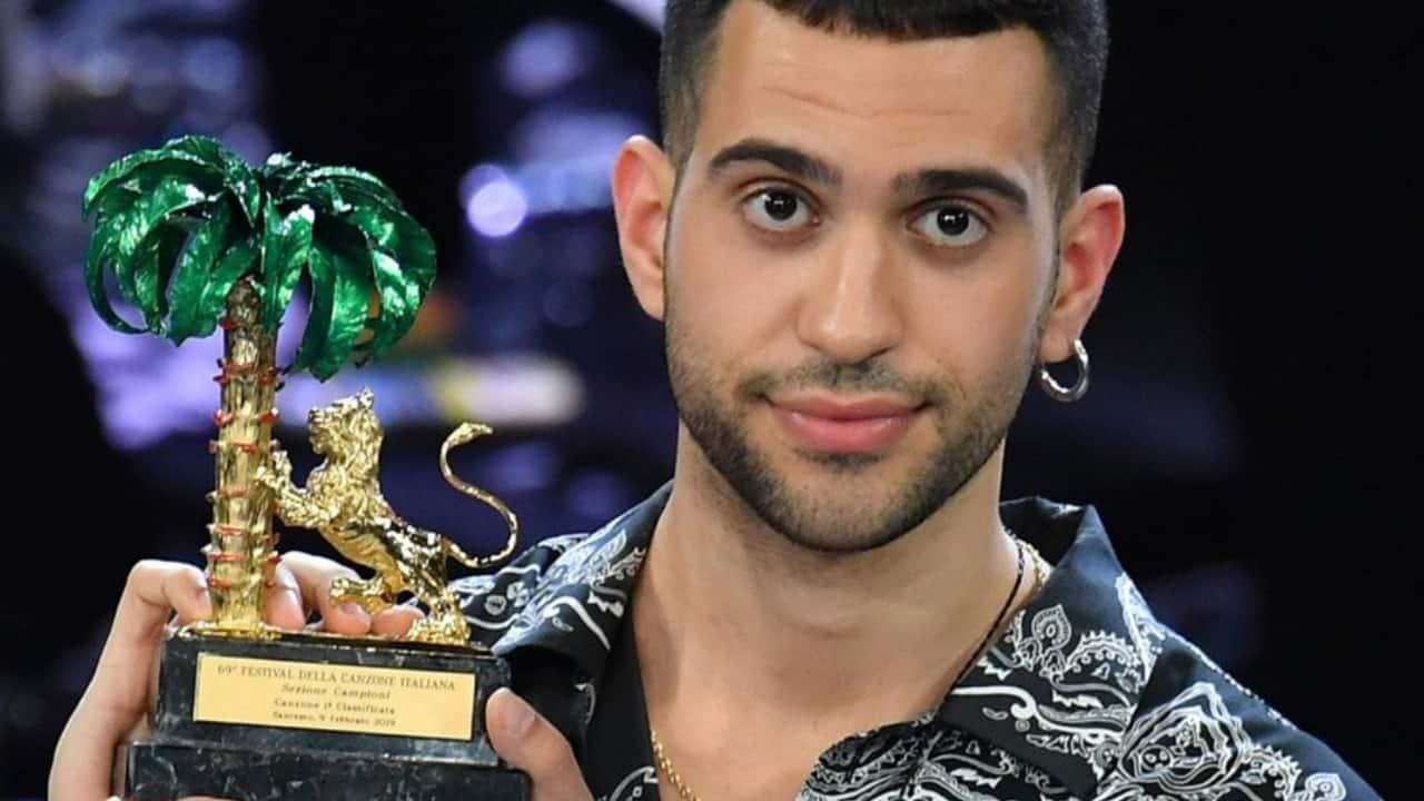 Mahmood con il premio di sanremo