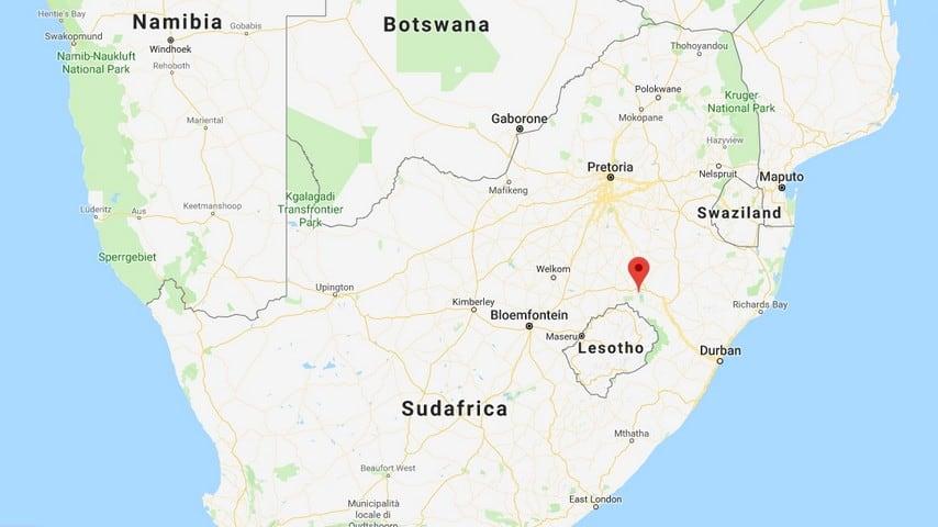 La provincia di Free State, in Sudafrica