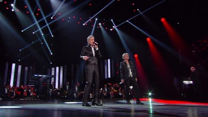 Ligabue e Claudio Baglioni cantano Dio è morto