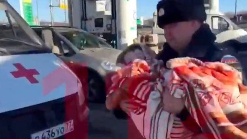 bambino, poliziotti