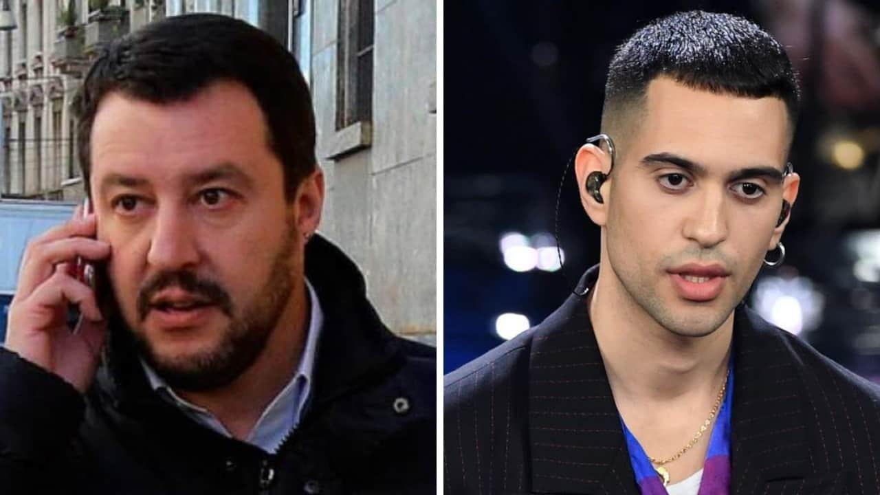 Salvini telefina Mahmood