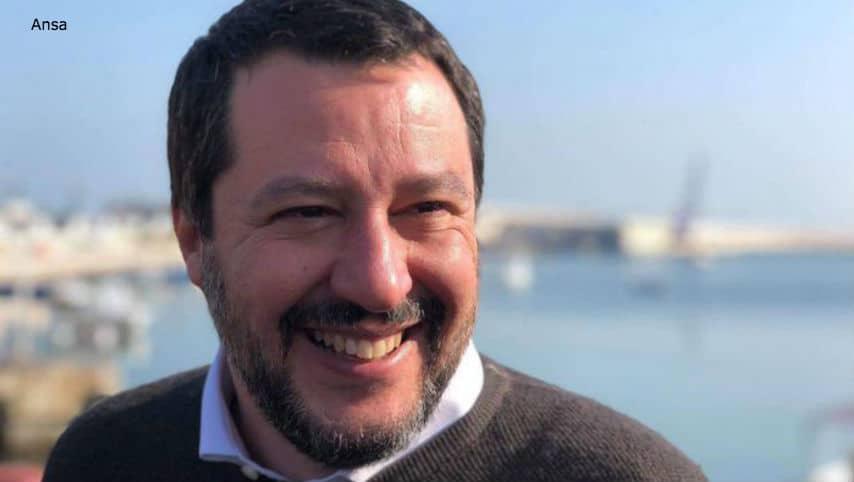 Matteo Salvini, primo piano