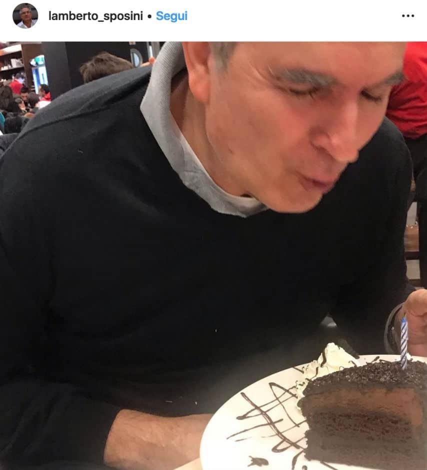 Lamberto Sposini spegne 67 candeline: gli auguri dei vip