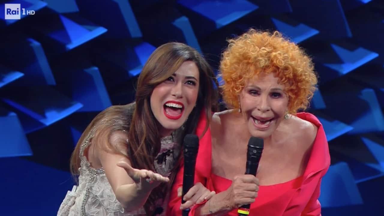 Ornella Vanoni e Virginia Raffaele