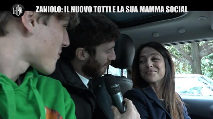 francesca costa mamma Nicolo zaniolo