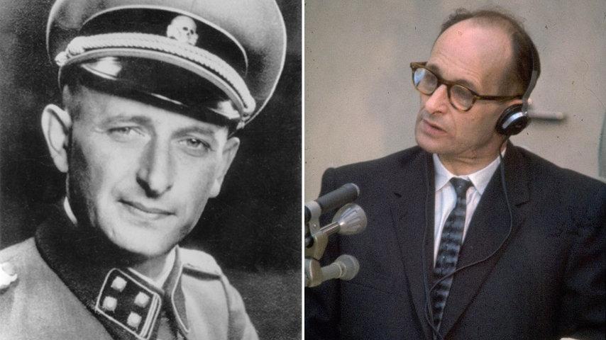 Adolf Eichmann negli anni della guerra e durante il processo. Credits: United States Holocaust Memorial Museum/Israle Photo Collection via Wikipedia
