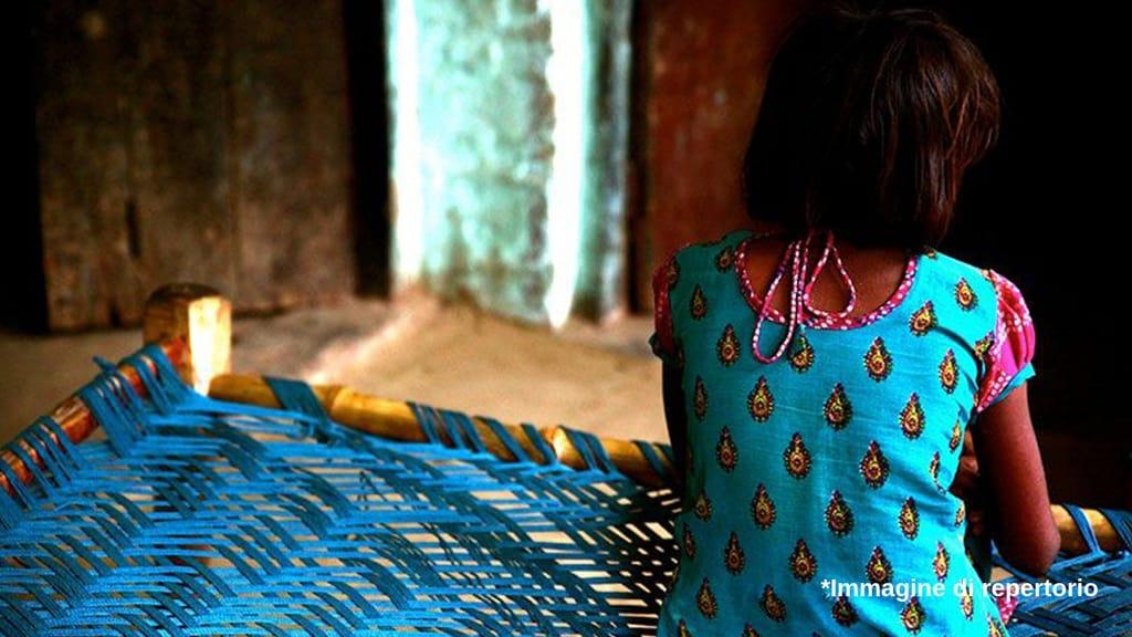 Bambina violentata e uccisa in India (Immagine di repertorio)