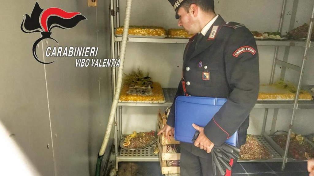 Le irregolarità scoperte dai Carabinieri Vibo Valentia