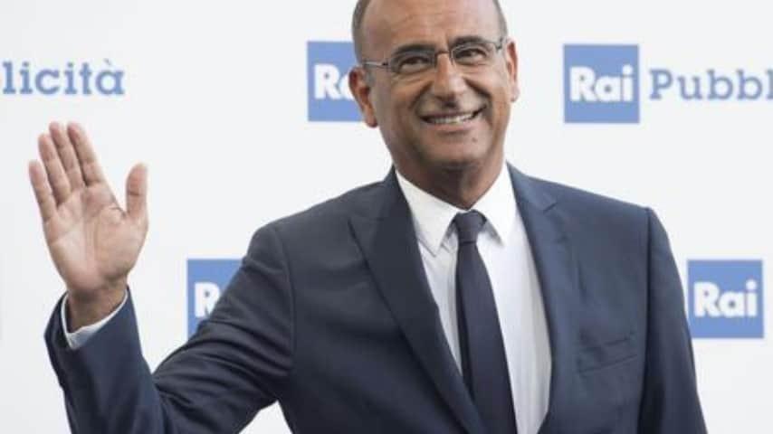 Carlo Conti, ex conduttore storico de L'Eredità\Ansa