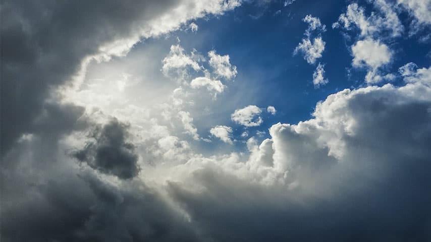 Cielo con nuvole