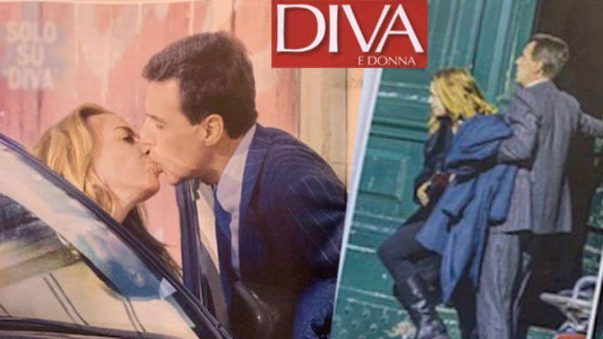 Claudia Gerini e il suo principe-azzurro